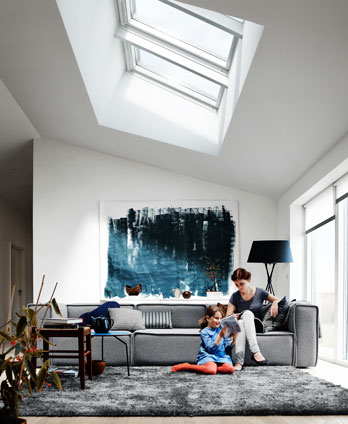 How to open a velux window