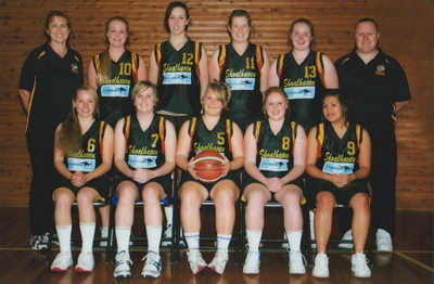 Shoalhaven Ladies Basketball team