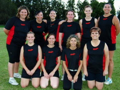 Berry Ladies Touch Football- Champions 06/07, Runners up 07/08