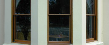 Timber Double Hung Windows